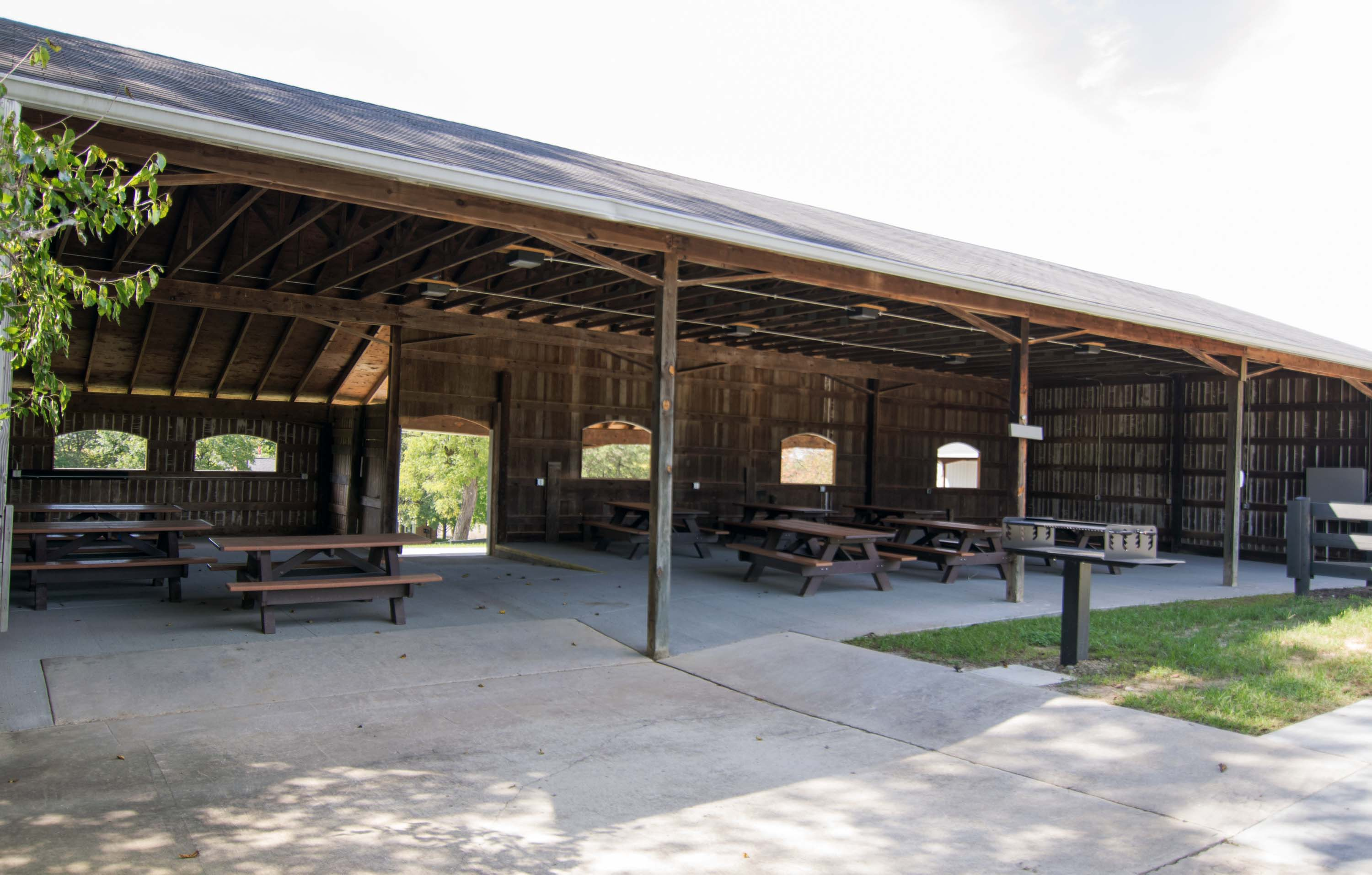 Timberman Ridge Picnic Shelter