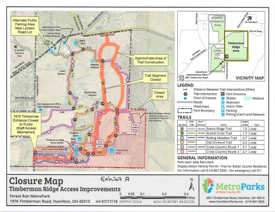 Thumbnail Memo and Special Permit-Closure of Forest Run-Timberman Ridge Area Probably Till Nov 2018 for Construction 7.20